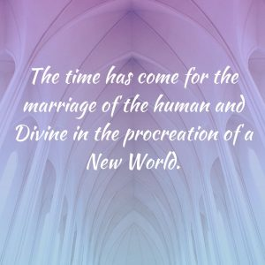 Time marriage human divine procreation New World