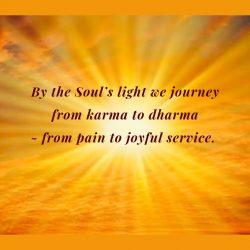 Soul Light karma dharma service