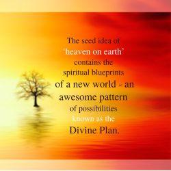 Heaven on Earth seed idea of new world