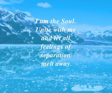I am soul unite with me