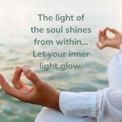 Light soul from within glow