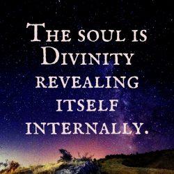 Soul divinity revealing itself