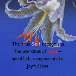 True Self recognition joyful love