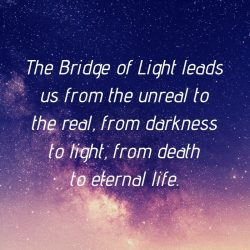 Unreal real darkness light death life Bridge Light