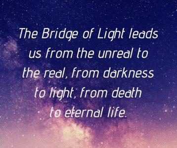 Unreal real darkness light death life Bridge Light