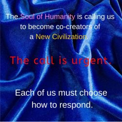 Urgent call become co creators new civilization