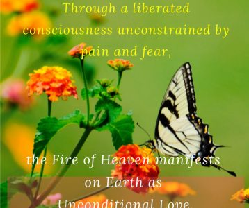 Liberated Consciousness Fire of Heaven