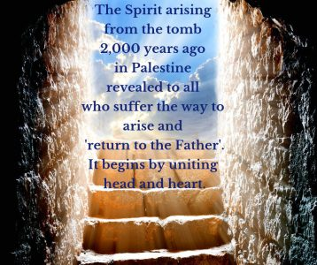 Spirit arising by uniting head and heart