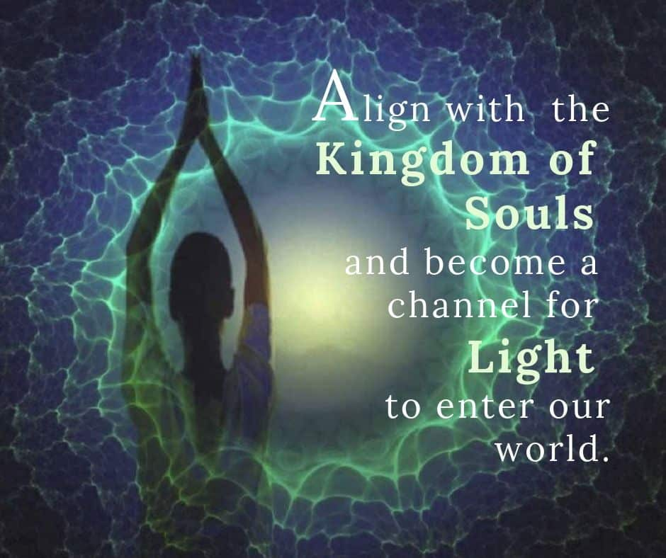Align with the Kingdom of Souls and become a channel for Light to enter our world.