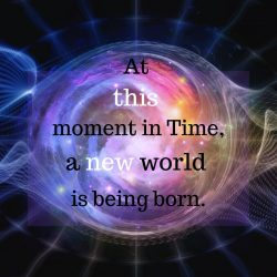 At this moment in Time a new world