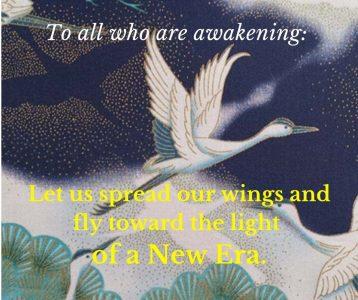 Awakening wings light new era