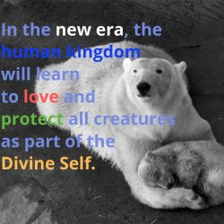 In the new era the human kingdom will learn to love
