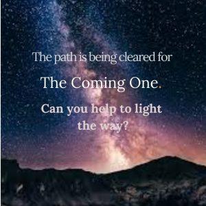 Path Coming One light way