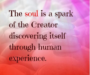 Soul spark Creator discover self human experience