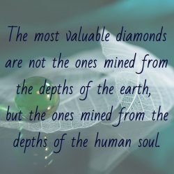 The most valuable diamonds are not the ones mined from the depths of the earth