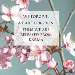We forgive-we are forgiven