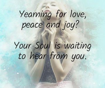 Yearning love peace joy Soul waiting