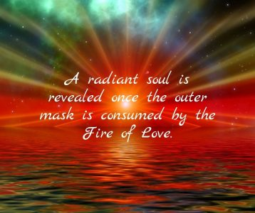 A radiant soul is revealed