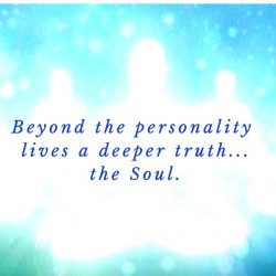 Beyond the personality lives a deeper truth