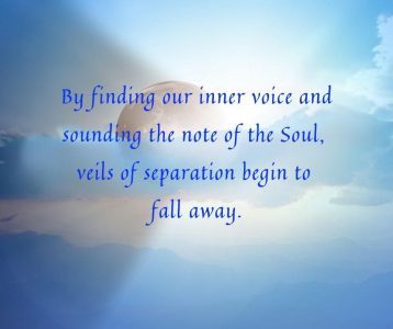Finding our inner voice