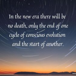In the new era there will be no death