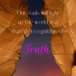Our souls will light up the world