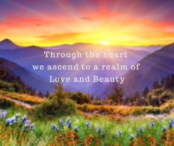 Through the heart we ascend