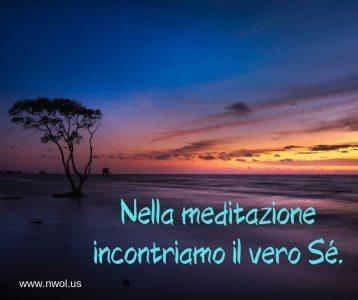 Nella meditazione