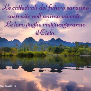 Le cattedrali del futuro saranno