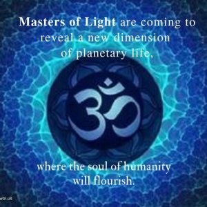 Masters of Light are coming to reveal a new dimension of planetary life