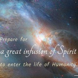 Prepare for a great infusion of Spirit