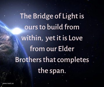 The Bridge of Light is ours to build from within