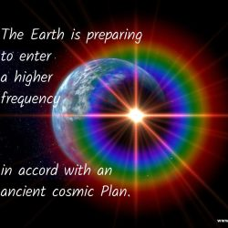 The Earth is preparing to enter a higher frequency
