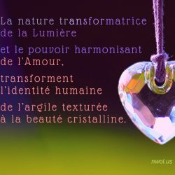 La nature transformatrice