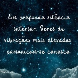 Em profundo silencio