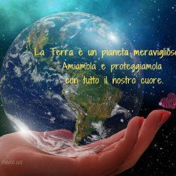 La Terra e un pianeta meraviglioso