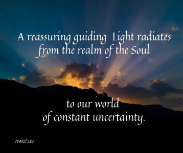 A reassuring guiding Light