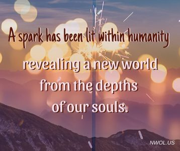 A spark has been lit within humanity