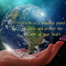 Earth is a beautiful planet