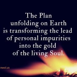 The Plan unfolding for life on Earth