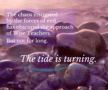 The chaos instigated by the forces of evil