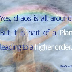 Yes chaos is all around