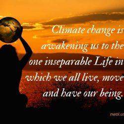 Climate change is awakening us