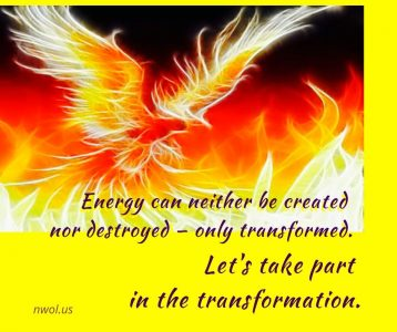 Energy can neither be created nor destroyed