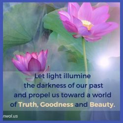 Let light illumine the darkness of our past