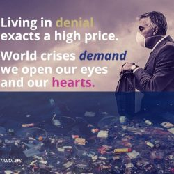 Living in denial exacts a high price