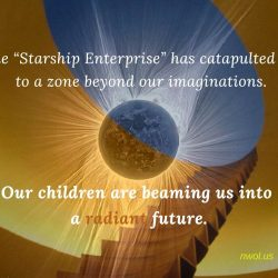 The Starship Enterprise has catapulted us to a zone beyond our imaginations
