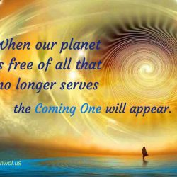 When our planet is free of all that no longer serves