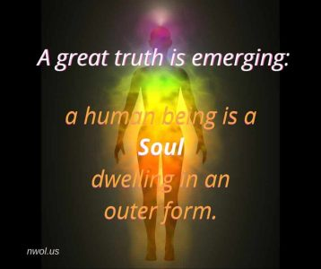A great truth is emerging