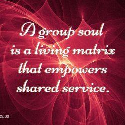 A group soul is a living matrix